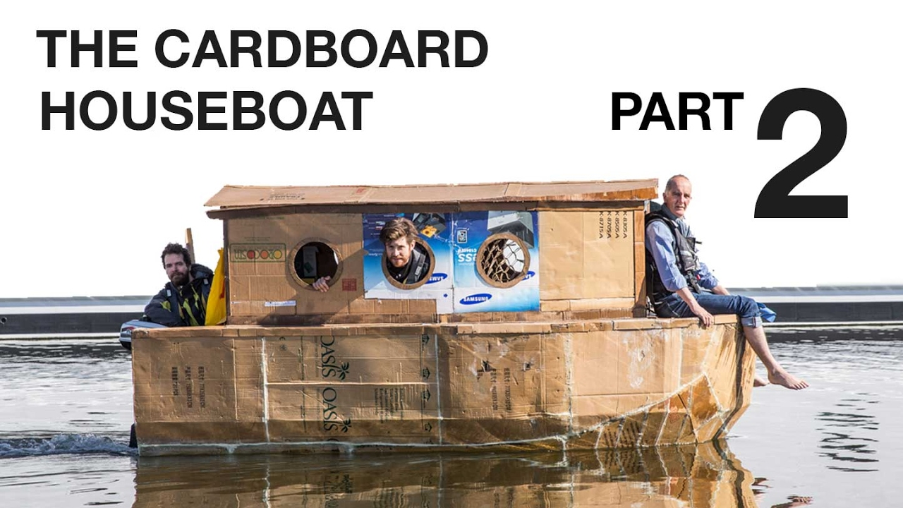 Houseboat Images The Cardboard Houseboat Part2 Youtube