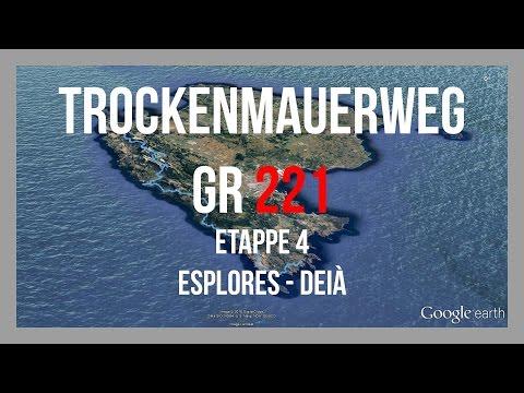 Trockenmauerweg GR221 | Etappe 4 - Esplores - Deià | Wandern Mallorca | GPS-Track