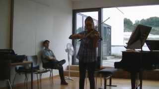 H. Wieniawski: Saltarello - Etude/Caprice Op 18 No 4 in a moll (Lucilla Mariotti)