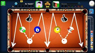 Going For ONLY INDIRECT Shots In 8 Ball Pool...(BAD IDEA)