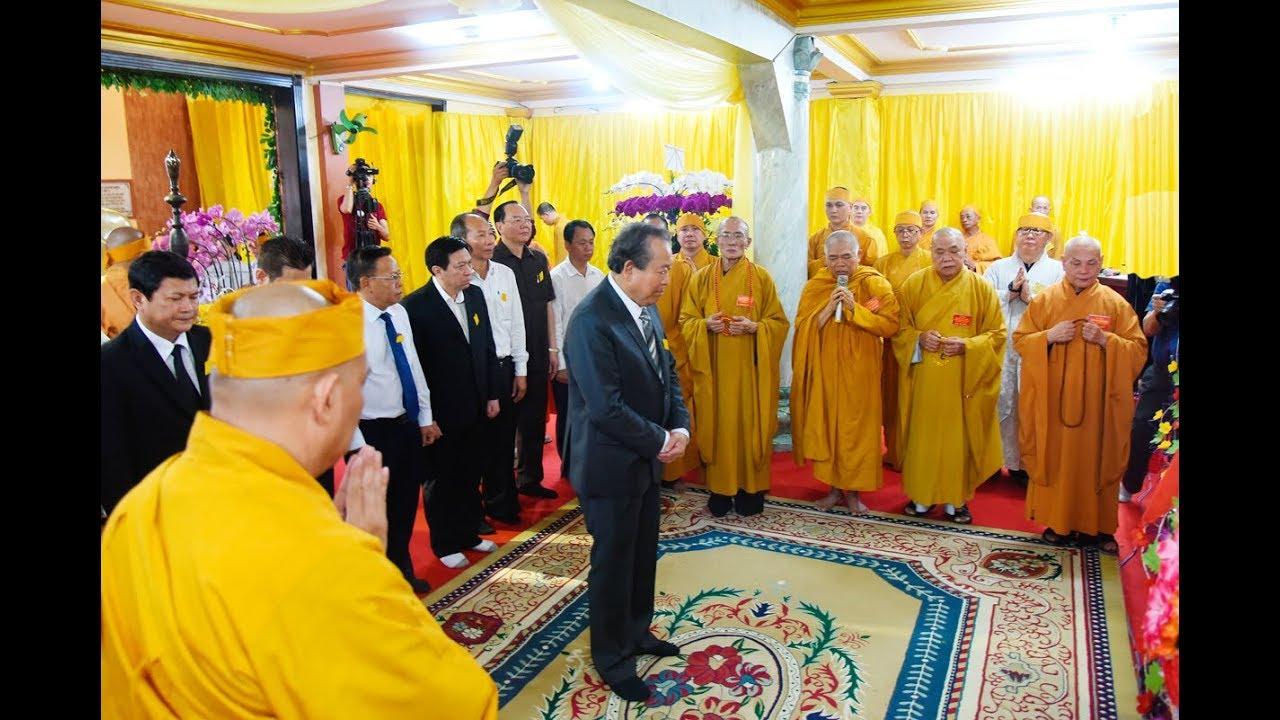 Video : Chính phủ và các phái đoàn viếng Tang Trưởng lão Hòa thượng Thích Hiển Pháp