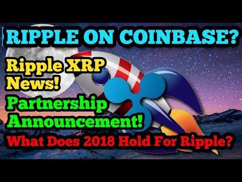 Ripple On CoinBase? - Partnership Announcement - Cobalt - Hyperledger - Donation - Ripple XRP News