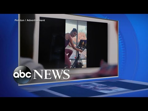 Peloton stock plummets amid backlash over 'sexist' holiday ad l ABC News