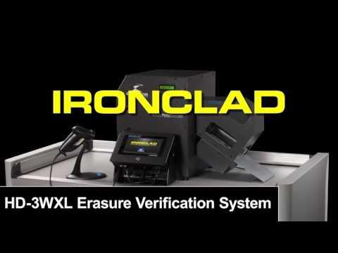 IRONCLAD TS-1 Erasure Verification System