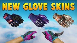 CSGO - All New Glove Skins In-Game Showcase (Clutch Case)