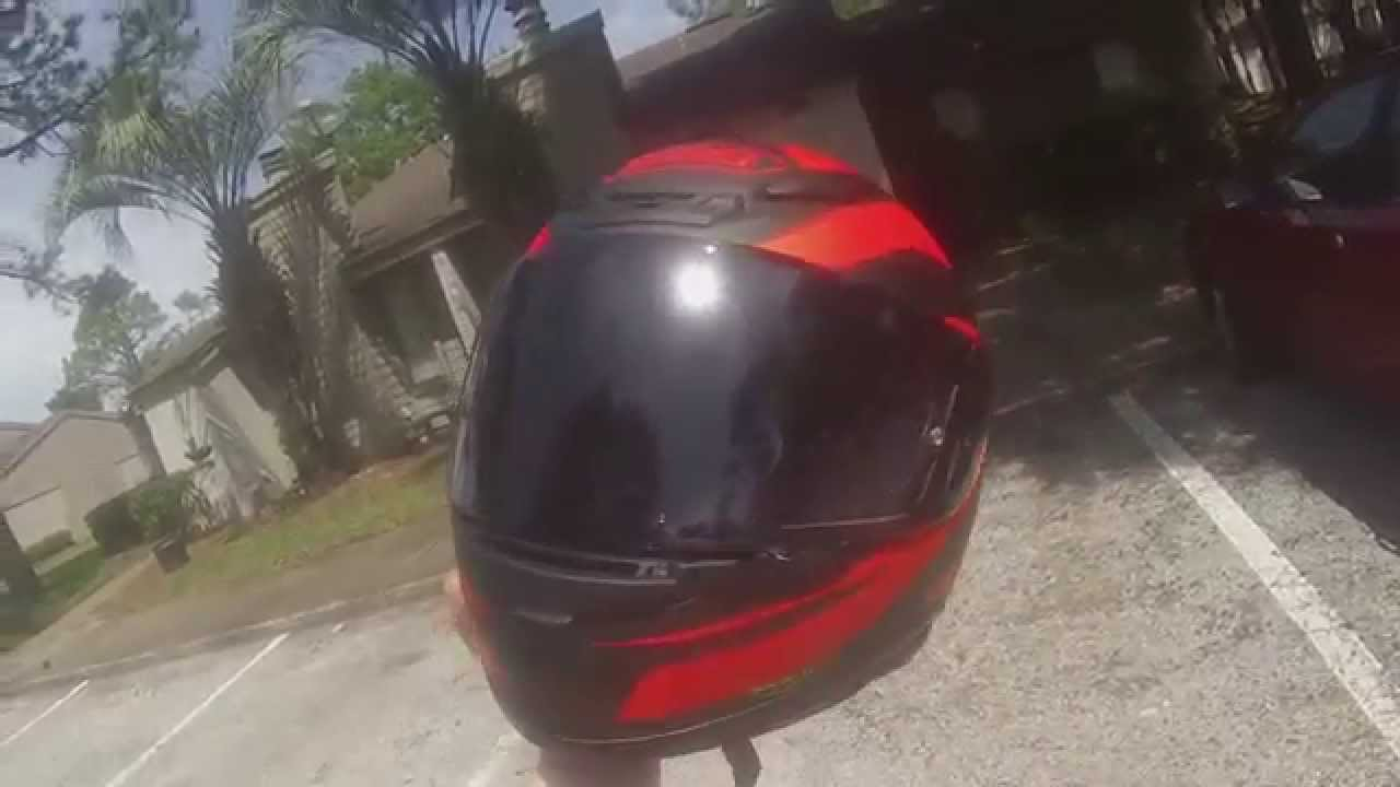 403b605d my new shoei photochromic visor - YouTube
