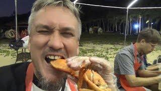 Безумная вечеринка на острове Обезьян. Еда, питьё, танцы и признания. Радужный пляж, Хайнань