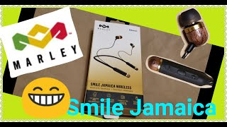 Updated edition House of Marley Smile Jamaica Bluetooth earbuds review amp unboxing