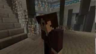 doctor who 11th doctor s regeneration recreated in minecraft