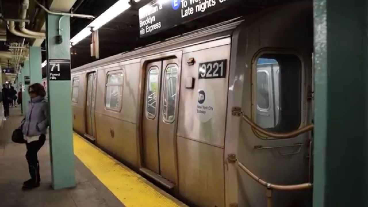 New York Subway Mta E Train In 2017