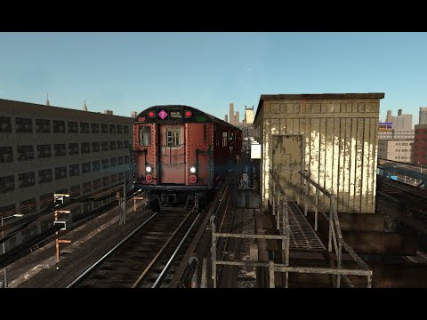World Of Subways 4 Railfanning and Riding Trains Along the 7 Line Local & Express |