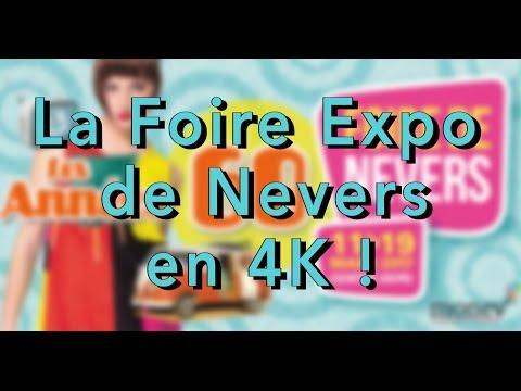 La foire expo de nevers 2017 en 4k ann es 60 39 s youtube for Foire expo niort 2017