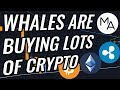 Whales Are Accumulating Huge Amounts Of Bitcoin & Crypto | BTC Golden Cross A Few Days Away