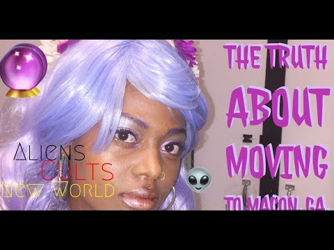 Truth About Moving To Macon Ga - Aneh the Goddess VLOG #7
