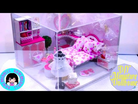 DIY Miniature Dollhouse +Working Lights + Music Box! ♥DarlingDolls DIY