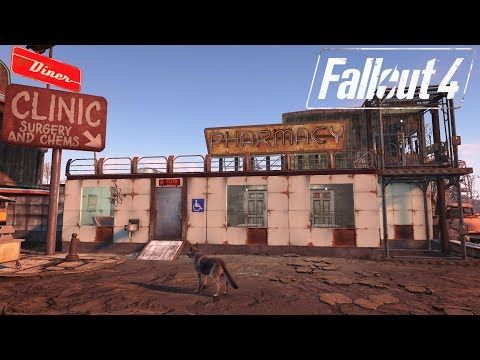 Fallout 4 Settlement Small Builds - Starlight City Hospital & Pharmacy
