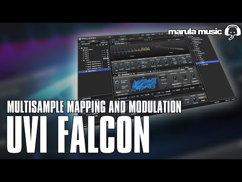 UVI Falcon : Working with multi-samples - Marula Music