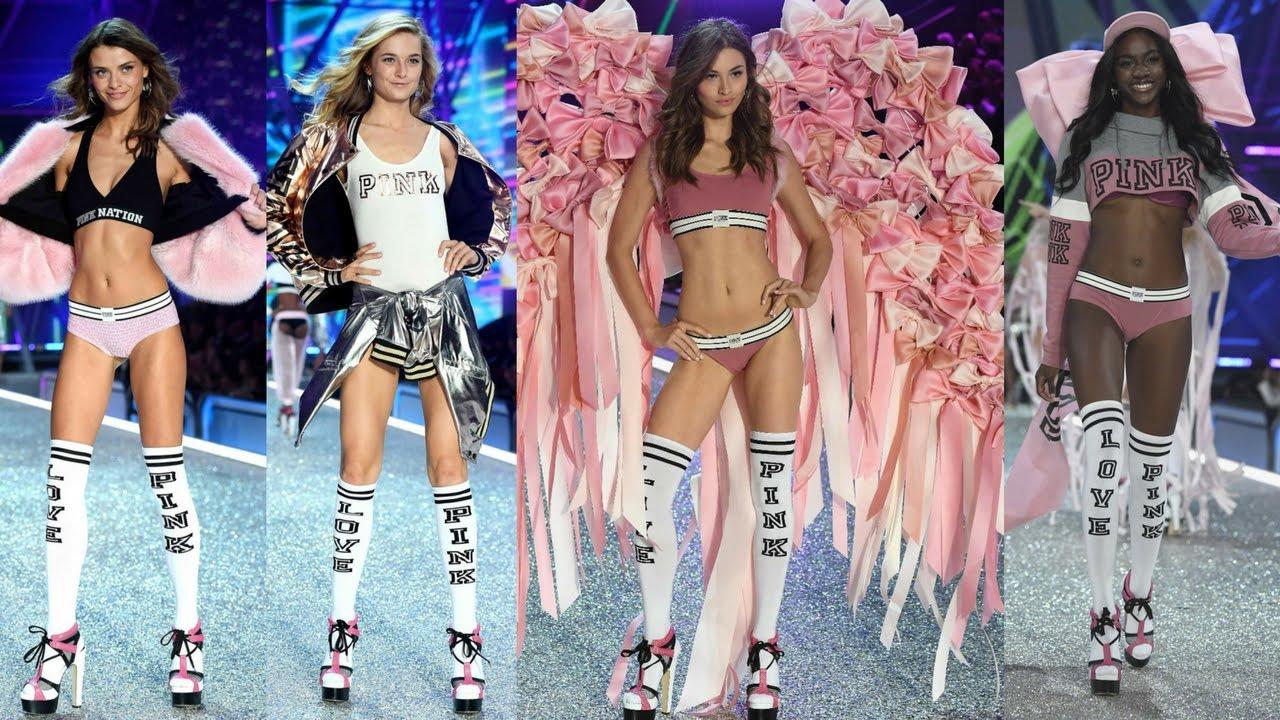 f2a89ffbc9c09 2017 Victoria's Secret Show   The Pink Collection