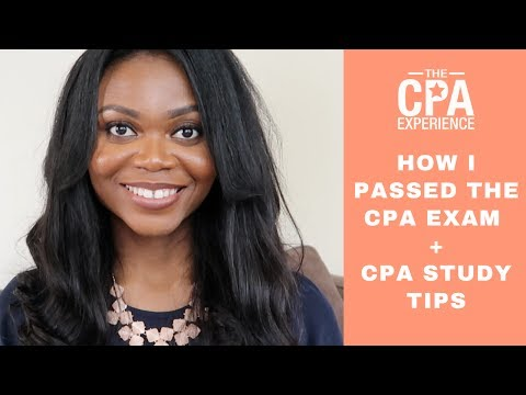 How I Passed the CPA Exam + CPA Study Tips