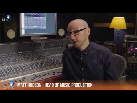 Music Production courses at BIMM - what's it all about Matt?
