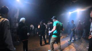 Leigh Johnson Vs. Fabrixxx & p.slang LIVE @ 10 Years Tribehousseffect MLK Blankenburg  15-11-14 #2
