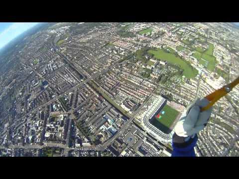 All Ireland 2013 Football parachute jump into Croke Park | The Sunday Game