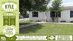 Top Move in Ready Virtual Tour Home Video For Sale in Kyle Buda, Texas on land
