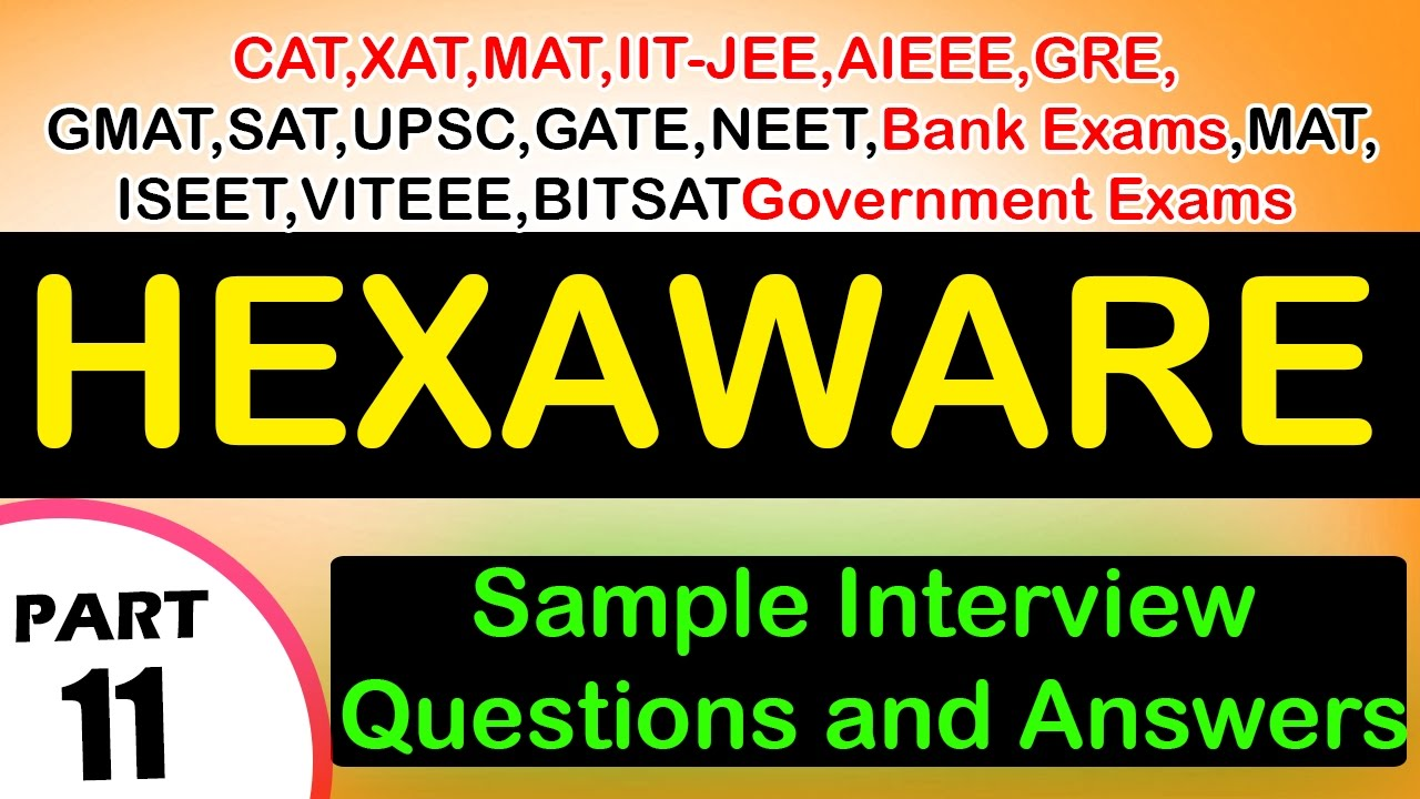 Hexaware 11 Jobs Career Interview Questions Answers S Freshers Experienced