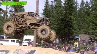 MONSTERS OF MOUNTAIN HAVOC TACKLE THE SHORT COURSE