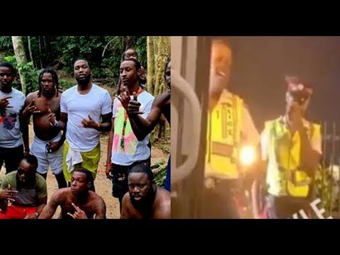 Meek Mill  Ask Police For Escort Out Jamaica Kingston Hood...DA PRODUCT DVD Mp3