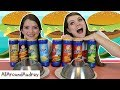 LAYS CHIPS VS REAL FOOD SWITCH UP CHALLENGE! / AllAroundAudrey