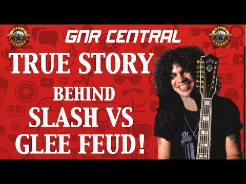 Guns N' Roses Documentary  Slash VS TV Show Glee! Mp3