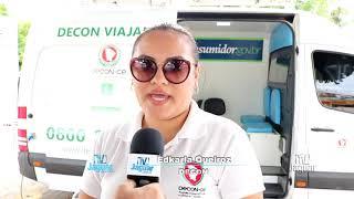 Carro com profissionais do projeto DECON Viajante realiza atendimentos na região jaguaribana