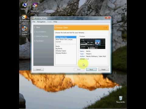 Instalarea unui player audio bun.Winamp