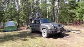 Superior National Forest (MN) Temperance River Campground.