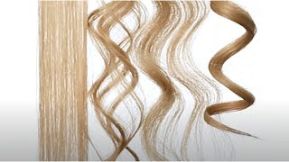 Straighten, Wave And Curl Hair With One Tool