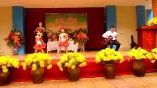 [20 - 11] - Guitar Proud Of You - Thầy Quang Thảo & HS Lớp 2A2 - by Thảo (Tôi Là Máu)