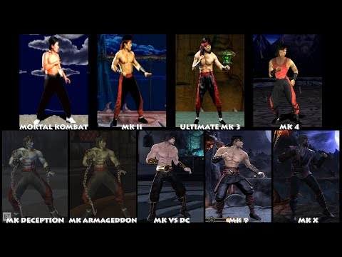 Mortal Kombat LIU KANG Graphic Evolution 1992-2015 | ARCADE PSX PS2 XBOX PC | PC ULTRA