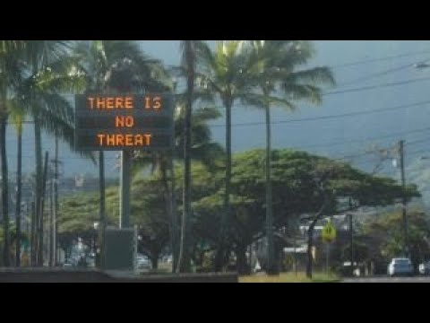Hawaii sent into panic by missile alert false alarm