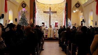 DAEŞ'ten geri alınan Hristiyan kasabalarında Noel heyecanı var