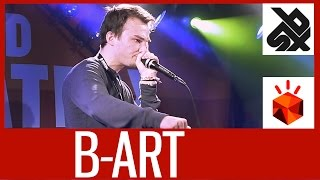 B-ART (THE NETHERLANDS)  |  Grand Beatbox Battle 2015  |  SHOW Battle Elimination
