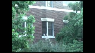Apartment Building on Fire Old Southwest Roanoke Virginia Part 1