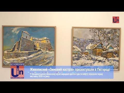 Живописний «Зимовий настрій» презентували в Ужгороді