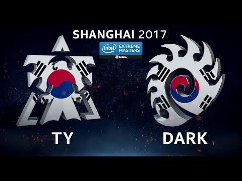 StarCraft II - TY vs. Dark [TvZ] - Group A - IEM Shanghai 2017