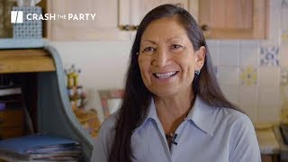 She Could Become The First Native American Congresswoman | #CrashTheParty