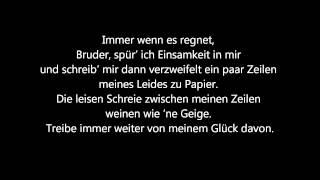 Azad - Immer wenn es regnet (Lyrics) [HQ]