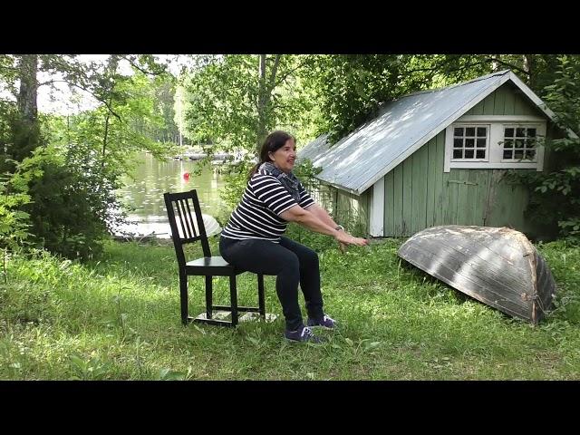 Ikäinstituutti: Soutelemassa, Kunnon eväät - liike 39