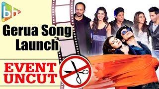 Video Gerua OFFICIAL Song Launch | Shahrukh Khan | Kajol | Kriti Sanon | Varun Dhawan download MP3, 3GP, MP4, WEBM, AVI, FLV Desember 2017