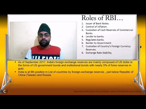 Roles of RBI in Indian Banking System? How RBI works?|#Economy & Finance|
