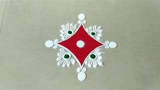 Small and easy rangoli design